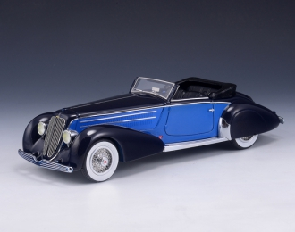DUESENBERG J Graber Convertible (1934), dark blue / blue
