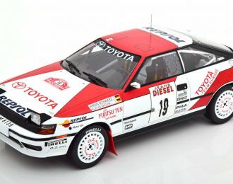 """TOYOTA Celica GT-Four (ST165) #19 """"Marlboro team"""" A.Schwarz/K.Wicha Rally San Remo (1990)"""
