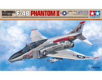 Сборная модель MCDONNELL F-4B PHANTOM II с двумя фигурами пилотов