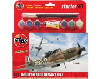Сборная модель Британский истребитель Boulton Paul Defiant Mk.I (Подарочный набор)