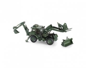 JCB HMEE EU Military Backhoe, green