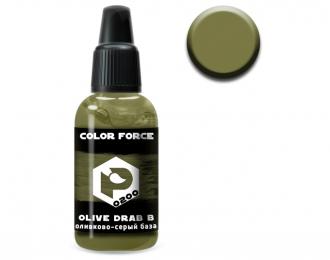 Краска для аэрографии Оливково-серый база (Olive drab base)