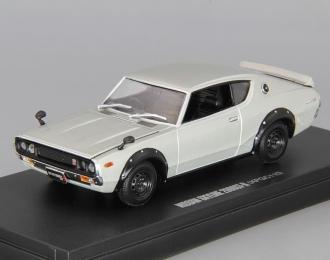 NISSAN Skyline 2000 GT-R (KPGC110), silver
