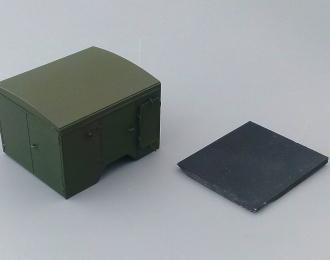 Надстройка Дезинукционно-душевая установка на базе одноосного прицепа