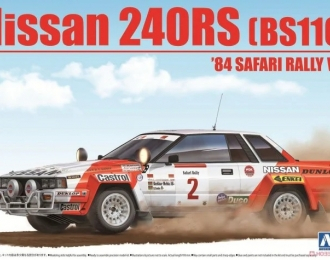 Сборная модель Nissan 240RS [BS110] 84' Safari Rally VER