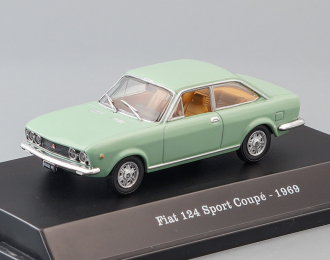 FIAT 124 Sport Coupe (1969), green