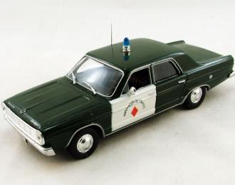 DODGE Dart, Полицейские Машины Мира 15, зеленый