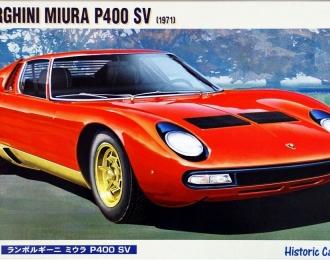 Сборная модель Легковой автомобиль Lamborghini Miura P400 SV (1971)