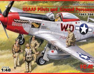 Сборная модель USAAF Pilots and Ground Personnel (1941-1945)