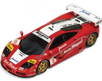 McLAREN F1 GTR #9 A.Wallace-O.Grouillard GT Zhuhai (1995), red