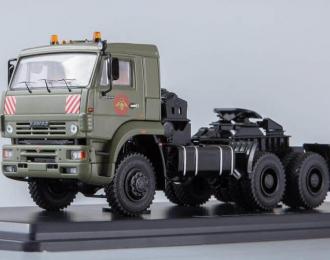 КАМАЗ-65225 седельный тягач, хаки