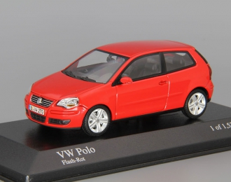 VOLKSWAGEN Polo (2005), red