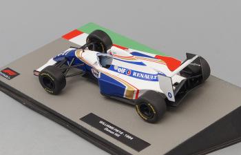 WILLIAMS FW16  Дэймона Хилла (1994), Formula 1 Auto Collection 22