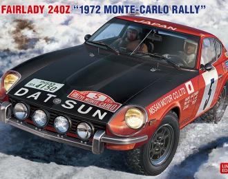 Сборная модель Datsun Fairlady 240Z 1972 Rally Monte-Carlo