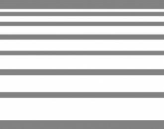 Набор декалей Полосы белые, 195x40