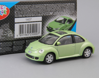VOLKSWAGEN New Beetle, light green metallic