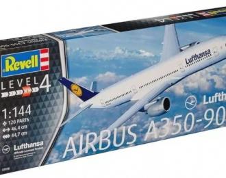 Сборная модель Самолет пассажирский Airbus A350-900 авиакомпании Lufthansa