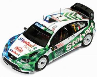 FORD Focus WRC 7 G.Galli-G.Bernacchini Rally Monte Carlo 2008, цветной