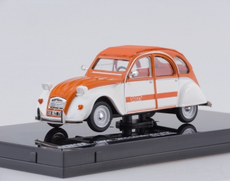 CITROEN 2CV SPOT (1976), orange/white