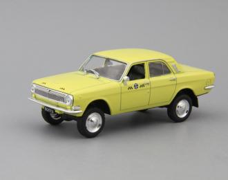 (Конверсия!) Горький 24-95 Такси, Автомобиль на службе 30, желтый