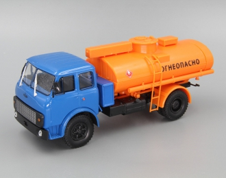 "МАЗ АС-8 ""Огнеопасно"", синий / оранжевый"