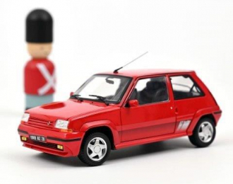 RENAULT 5 Supercinq GT Turbo 1989 Red