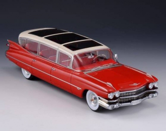 Cadillac Broadmoor Skyview 1959 (red)