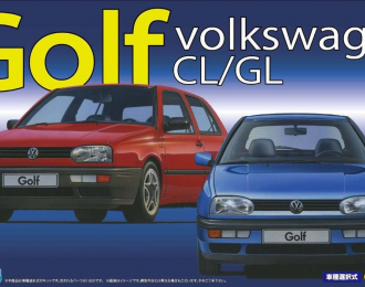 Сборная модель Volkswagen Golf CL// GL