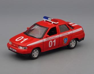 ВАЗ 2110 Лада Пожарная служба, красный