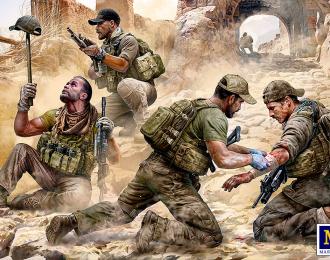 Сборная модель Специальная оперативная группа. Опасность близко
