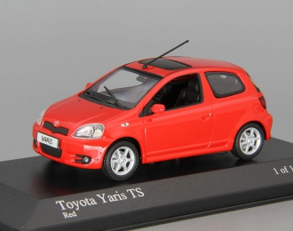 TOYOTA Yaris TS (2001), red