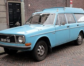 VOLVO 145 Express, Light Blue