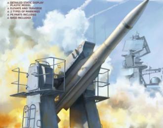 Сборная модель Зенитный ракетный комплекс Russian Navy SA-N-7 'Gadlfy' & SA-N-12 'Grizzly' SAM
