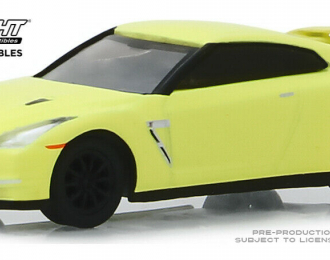 NISSAN GT-R (R35) 2016 Fluorescent Neon Yellow