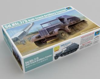 Сборная модель Sd.Kfz. 7/3 Half-Track Artillery Tractor Feuerleitpanzer