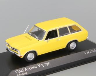 OPEL Ascona Voyage (1970), yellow