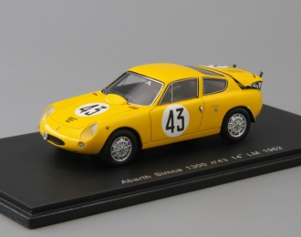 (Уценка!) ABARTH Simca 1300 #43 14th LM (1962), yellow