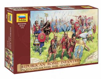Сборная модель Республиканская Римская пехота III-II ВВ. до Н.Э.