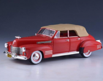 CADILLAC Series 62 Sedan Convertible (закрытый) 1941 Red