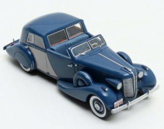 BUICK Series 80 Opera Brougham Fernandez & Darrin 1938 Blue