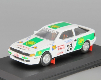 "TOYOTA Celica GT4 #23 ""BP"", white / green"