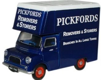 BEDFORD CA Pantechnicon мебельный фургон (1959), blue