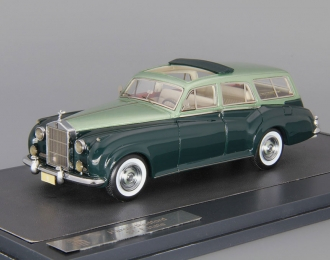 ROLLS-ROYCE Silver Cloud Harold Radford SC Estate (1959), light green / dark green