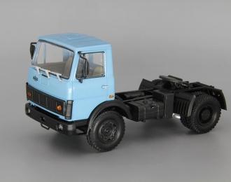 МАЗ 5433 седельный тягач (1987-1993), голубой
