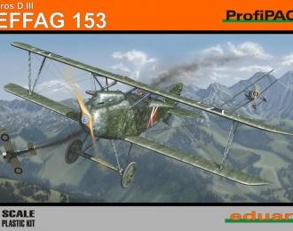 Сборная модель Истребитель Albatros D.III Oeffag 153