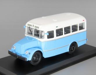 (УЦЕНКА!) Курганский автобус 651 (1958-1967), белый / голубой