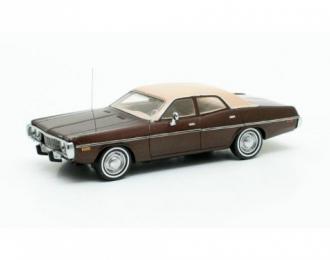 DODGE Coronet Sedan (1973), brown met.