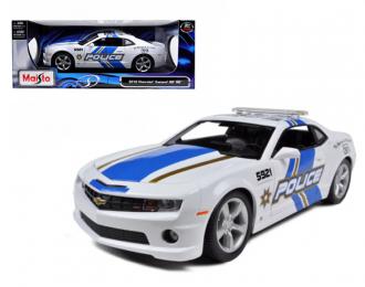 Chevrolet Camaro SS RS Police голубой/белый