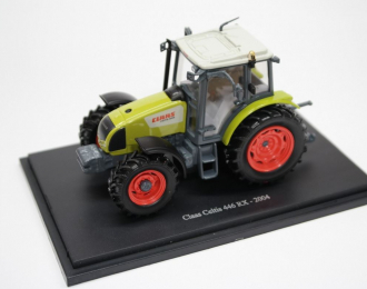 Claas Celtis 446 RX (2004), green / black / red