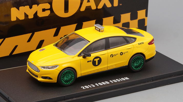 """FORD Fusion """"NYC Taxi"""" (такси Нью-Йорка) 2013 (Greenlight!)"""